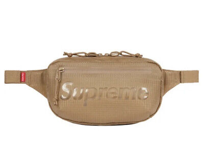 $ CDN177.61 • Buy Supreme Waist Bag Tan Os Ss21 (in Hand) 100% Authentic Brand New
