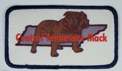 $6.99 • Buy Vintage Central Tennessee Mack Trucks Patch 4x2.25 VGC Bulldog Hipster