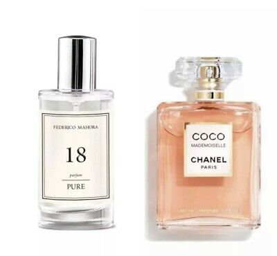 FM 18 Pure Perfume 50ml - Inspired By Coco Mademoiselle Limited Edition • 10£