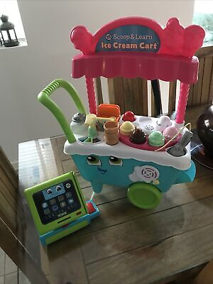 LeapFrog/ Leapster 600700 Scoop & Learn Ice Cream Cart And Leap Frog Till. • 19.50£