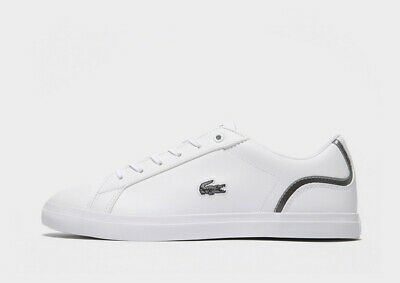 Brand New In Box - Lacoste Shoes Trainers - White And Grey - Size 5 • 39£