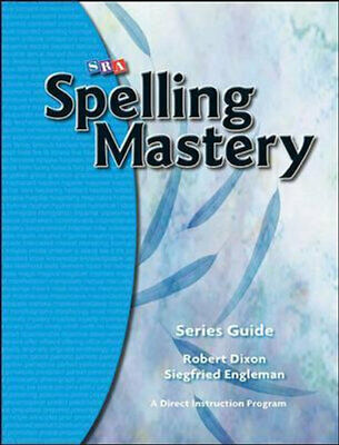 AU60.95 • Buy NEW Spelling Mastery 2007 Edition : Series Guide By McGraw Hill Paperback