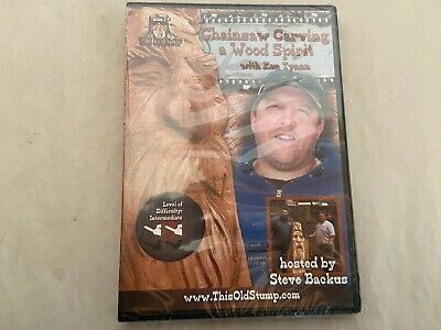 £14.54 • Buy  Chainsaw Carving A Wood Spirit DVD