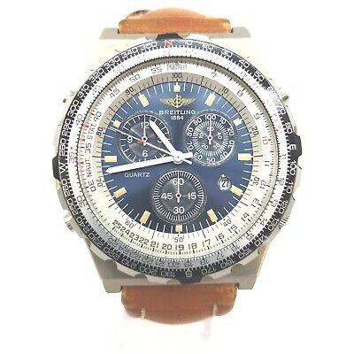 AU658.74 • Buy BREITLING Watch  A59027 Jupiter Pilot Chronograph Operates Normally 1907039