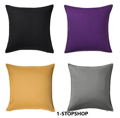 £8.99 • Buy IKEA Large Cushion Cover  GURLI  65x65cm 100% Cotton 4 COLORS IN STOCK FAST POST
