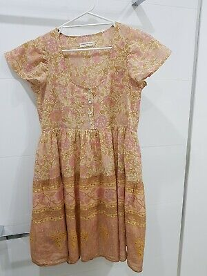 AU64 • Buy Spell And The Gypsy Collective Love Story Babydoll Mini Dress. Size XS. BNWT