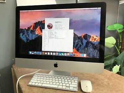 IMac 21.5 Quad Core I5  2.5GHz 8GB 500GB Wireless Working 2 Months Warranty! • 274.99£