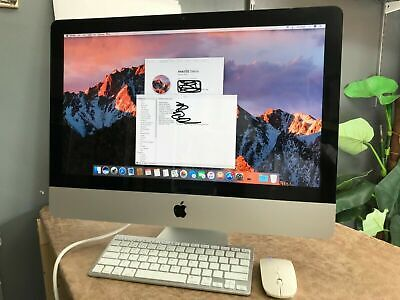 IMac 21.5 Quad Core I5  2.7GHz 12GB 240GB SSD Wireless Working 90 Days Warranty! • 359.99£
