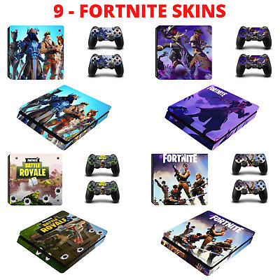 AU8.96 • Buy PS4 SLIM SKIN Fortnite  Decal Sticker For PlayStation 4 Console & Controllers