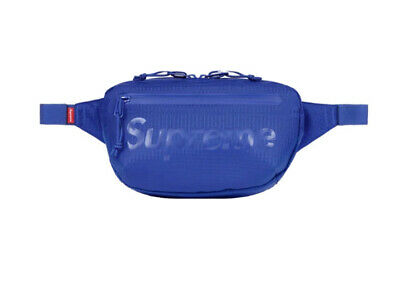 $ CDN177.61 • Buy Supreme Waist Bag Royal Os Ss21 (in Hand) 100% Authentic Brand New