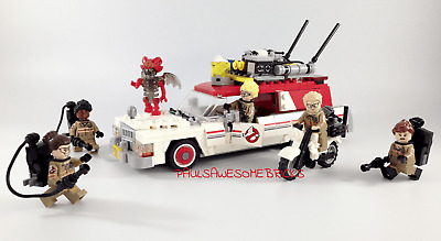 Lego Ghostbusters Ecto 1 & 2 75828 - 100% Complete Inc New Sticker Sheet • 65£