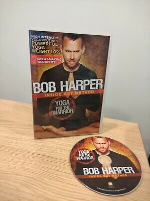Bob Harper Inside Out Method - Yoga For The Warrior Sculpted Body DVD Free P&P • 11.99£