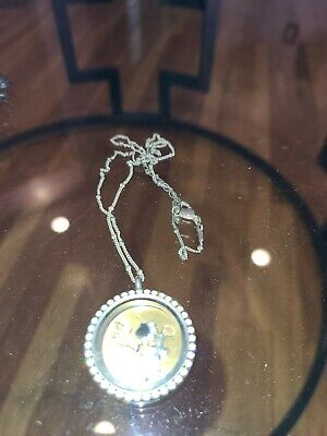 $ CDN1.25 • Buy Origami Owl Necklace With Charms