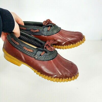 Chris Craft Short Low Top Lined Duck Boots Size 6 • 20.76£