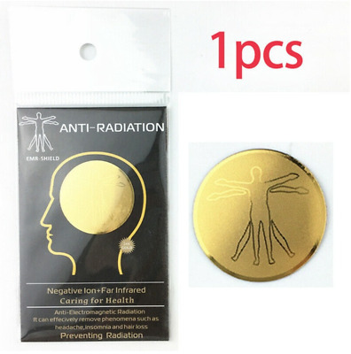 Anti Radiation Protector Shield EMF Protection Cell Phone Sticker EMR Blocker UK • 3.99£