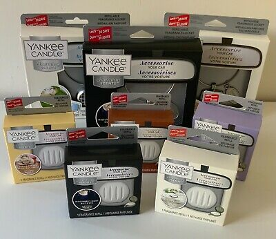 £6.95 • Buy Yankee Candle Charming Scents Car Air Freshener Starter Kits & Refills