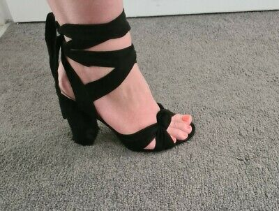 AU15.50 • Buy Forever New Strappy Heels Size 38