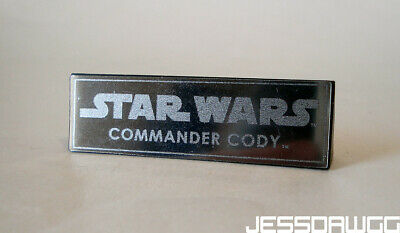 $ CDN15.19 • Buy Name Plate 1/6 Commander Cody Stand Base By Hot Toys Star Wars 12  Figure