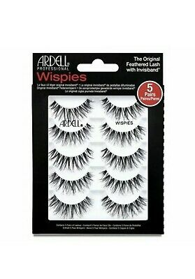 Ardell Demi Wispies Lashes Multipack Of False Eyelashes - Contains 5 Pairs ! NEW • 11.80£