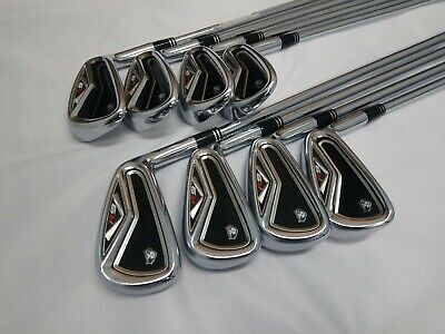 AU490.99 • Buy Taylormade R9 Iron Set 3-PW KBS Tour Stiff Steel *Great Condition + Grips*