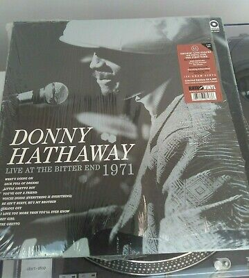 Donny Hathaway – Live At The Bitter End 1971RSD 2014 Release, Ltd 4000 Vinyl • 79£