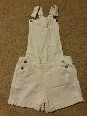 Girls Denim Dungarees Aged 12-13yrs  • 0.99£