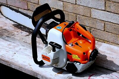 Stihl Chainsaw 08-s Petrol 2 Stroke 20  Blade Electronic Quickstop • 100£