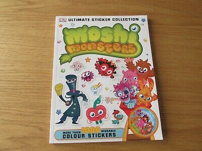Moshi Monsters - Ultimate Sticker Collection Book • 3.50£