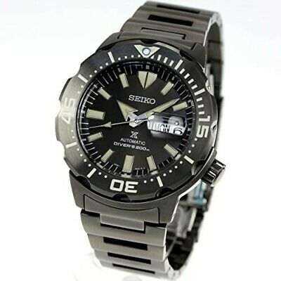 $ CDN768.79 • Buy SEIKO Watch SBDY037 PROSPEX Monster Men's Black Dial Band Analog Round Face