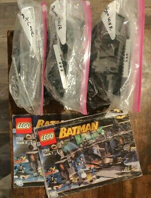 Lego Batman Batcave 7783 The Penguin And Mr. Freeze's Invasion (Incomplete) • 123.01£