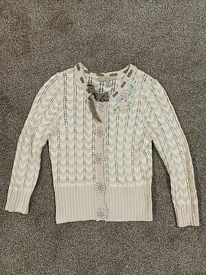 $ CDN29.03 • Buy Anthropologie Easel Embroidered Cardigan Small Mint Condition!
