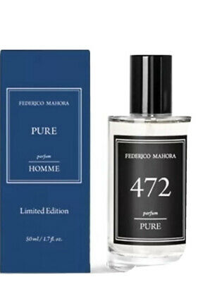 FM 472 Limited Edition Men's Fragrance 50ml- Inspired By Creed Aventus • 12.50£