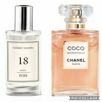 FM 18 Pure  Perfume For Women 50ml Inspired By Coco Chanel Mademoiselle • 11.50£