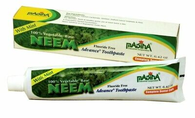 6 Pack Of Madina ADVANCED NEEM TOOTHPASTE  • 18.59£