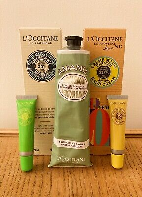 L'occitane Hand Cream (Large 150ml) And Lip Balm Set - RRP £85 • 20£