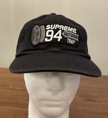 $ CDN112.47 • Buy Supreme Shell Patch 6 Panel Hat/ Black Os Ss21 Week 1 ( In Hand) Authentic/ New