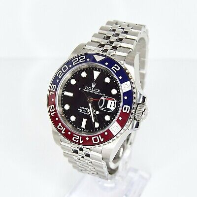 $ CDN29105.17 • Buy Rolex GMT Master II 126710BLRO Box And Papers  2020 NEW/UWORN Pepsi Ceramic