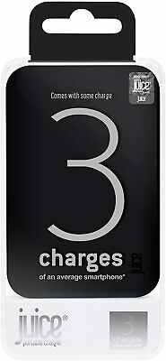 JUICE 3 Portable Phone/Tablet Charger - Black 10000 MAh NEW! • 18.95£