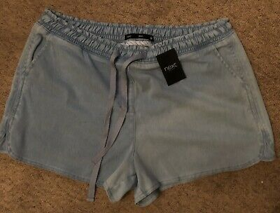 Next Ladies Demin Shorts Size 16 Bnwt • 2.50£