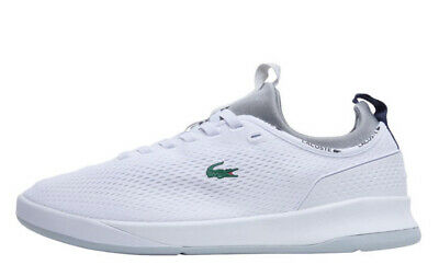 Lacoste Mens LT Spirit 2.0 Trainers White/Grey Shoes Size 12 New  • 77.99£