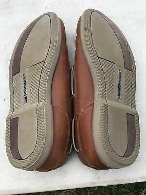 Rockport Mens Brown Leather Shoe Size 10W... Lovely Condition.. • 28£
