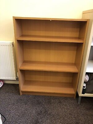 Ikea Billy Bookcase Beech Effect Laminate With Adjustable Shelves • 5£