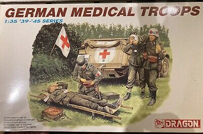 Dragon 1/35 6074 German Medical Troops 39-45 Series New • 16£