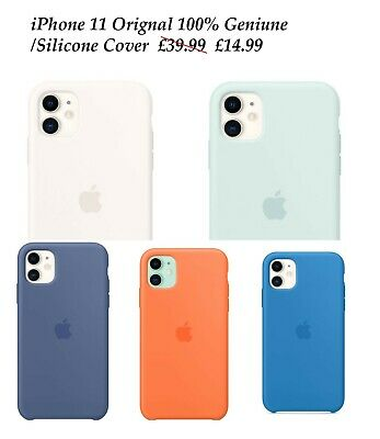 £14.99 • Buy Genuine IPhone 11 Silicone Case Wireless Charging Cover