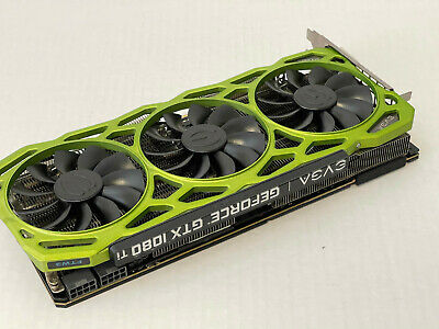 $ CDN1003.53 • Buy EVGA GeForce GTX 1080 Ti FTW3 11GB Gaming Graphics Card - Green 11G-P4-6796-K4