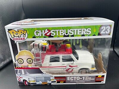Funko POP! Rides Ghostbusters #23 Ecto-1 With Jillian Holtzmann Vinyl Figure • 19.29£