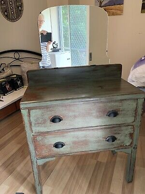 AU50 • Buy Dresser With Newly Replaced Mirror