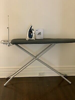 AU40 • Buy Philips Iron GC4512 With Manual & Hills Ironing Board With Grey Cover