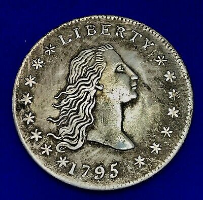 United States Of America Coin Usa -1795 Liberty Woman Face And 15 Stars • 139.29£