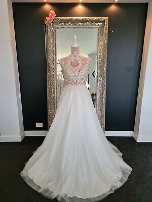 AU499 • Buy Wedding Dress - KC By Cizzy Bridal Size (US8) AU12 New With Tags